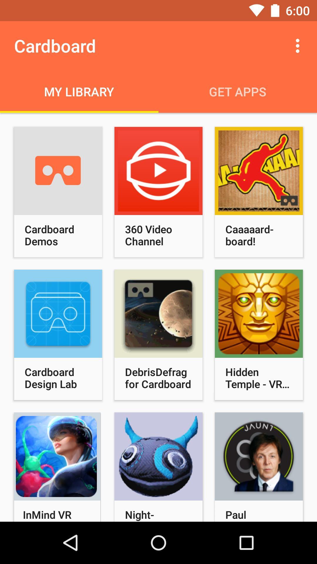 Cardboard 1.9 Screenshot 2
