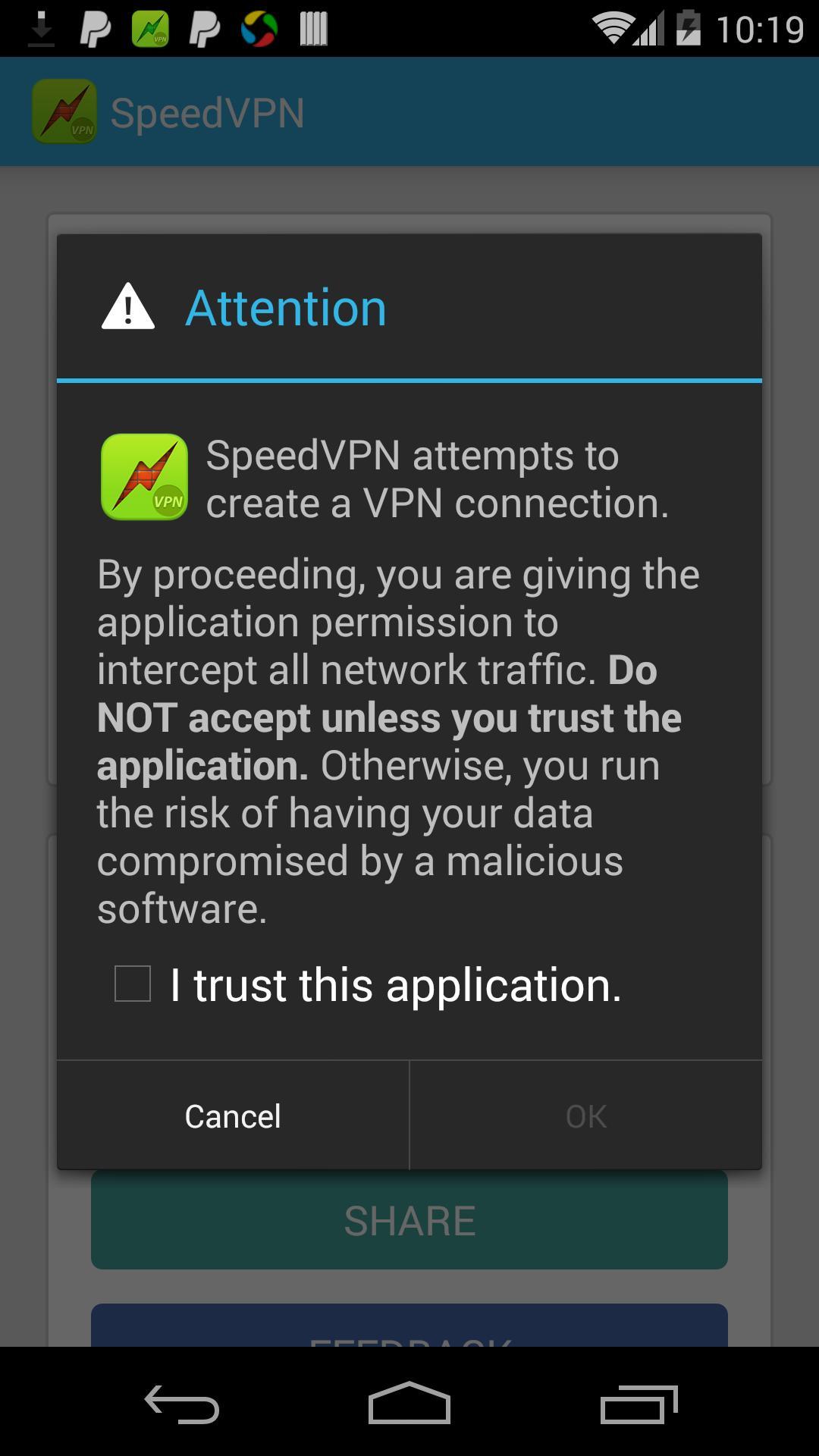 SpeedVPN Free VPN Proxy 1.6.0 Screenshot 3