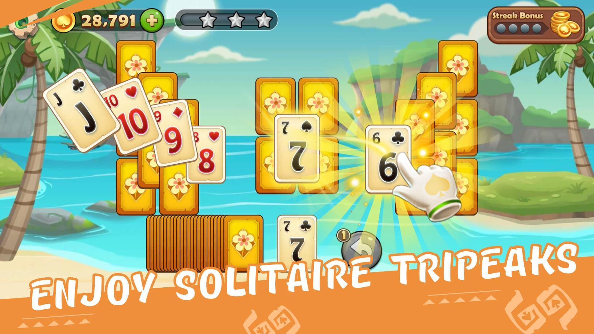 Solitaire Tripeaks 1.0.34 Screenshot 1