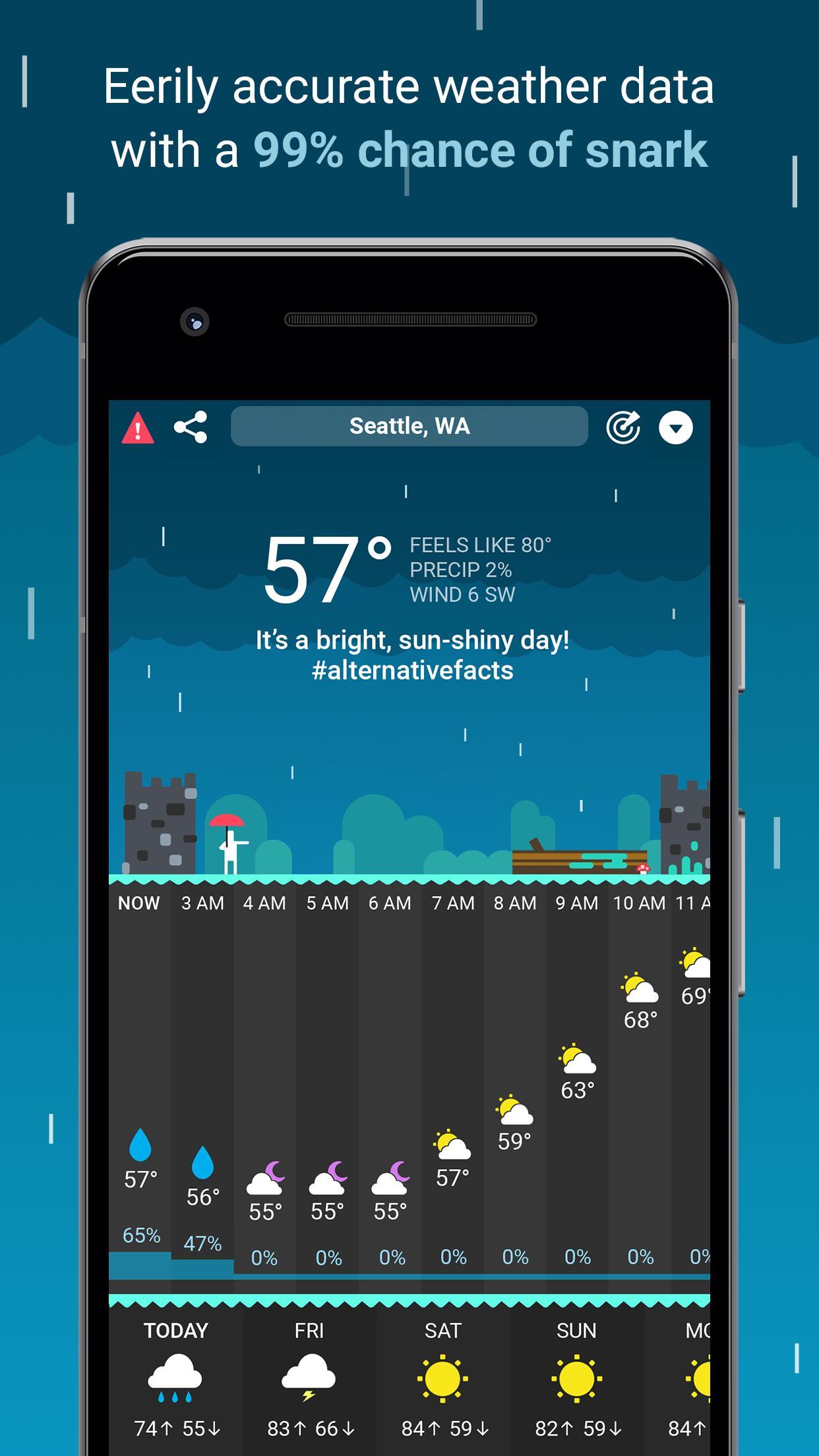 CARROT Weather 1.0.5 Screenshot 2