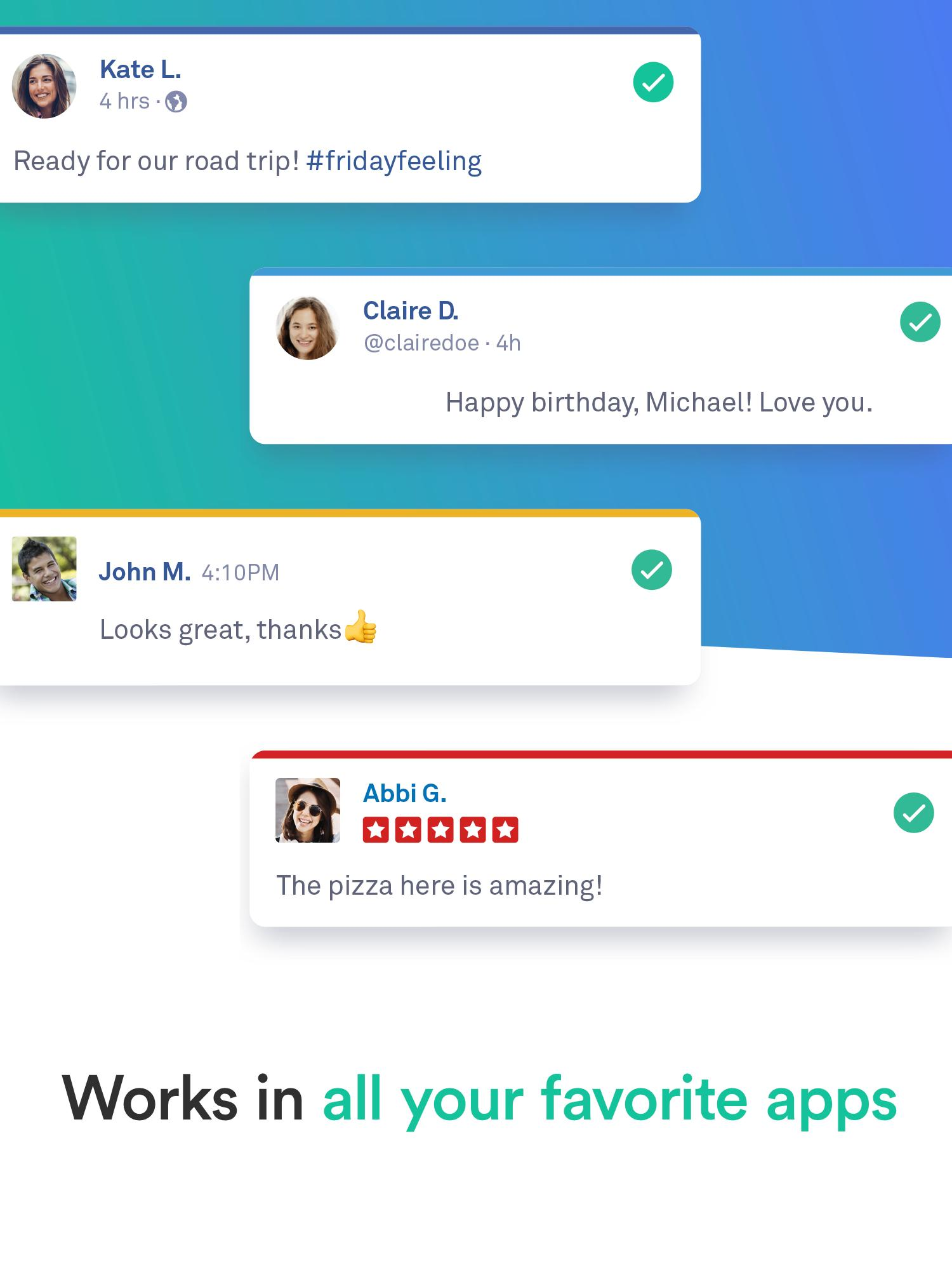 Grammarly Keyboard — Type with confidence 1.4.0.7 Screenshot 12