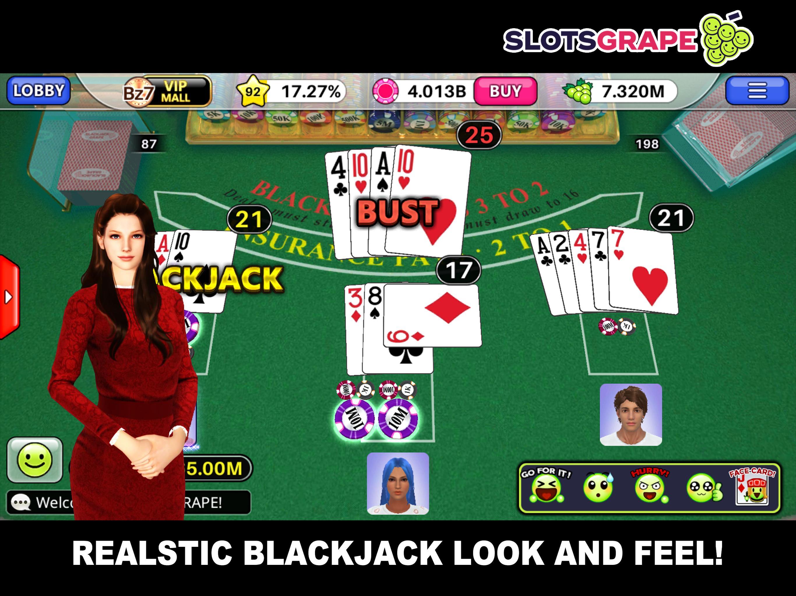 SLOTS GRAPE Free Slots and Table Games 1.0.78 Screenshot 12
