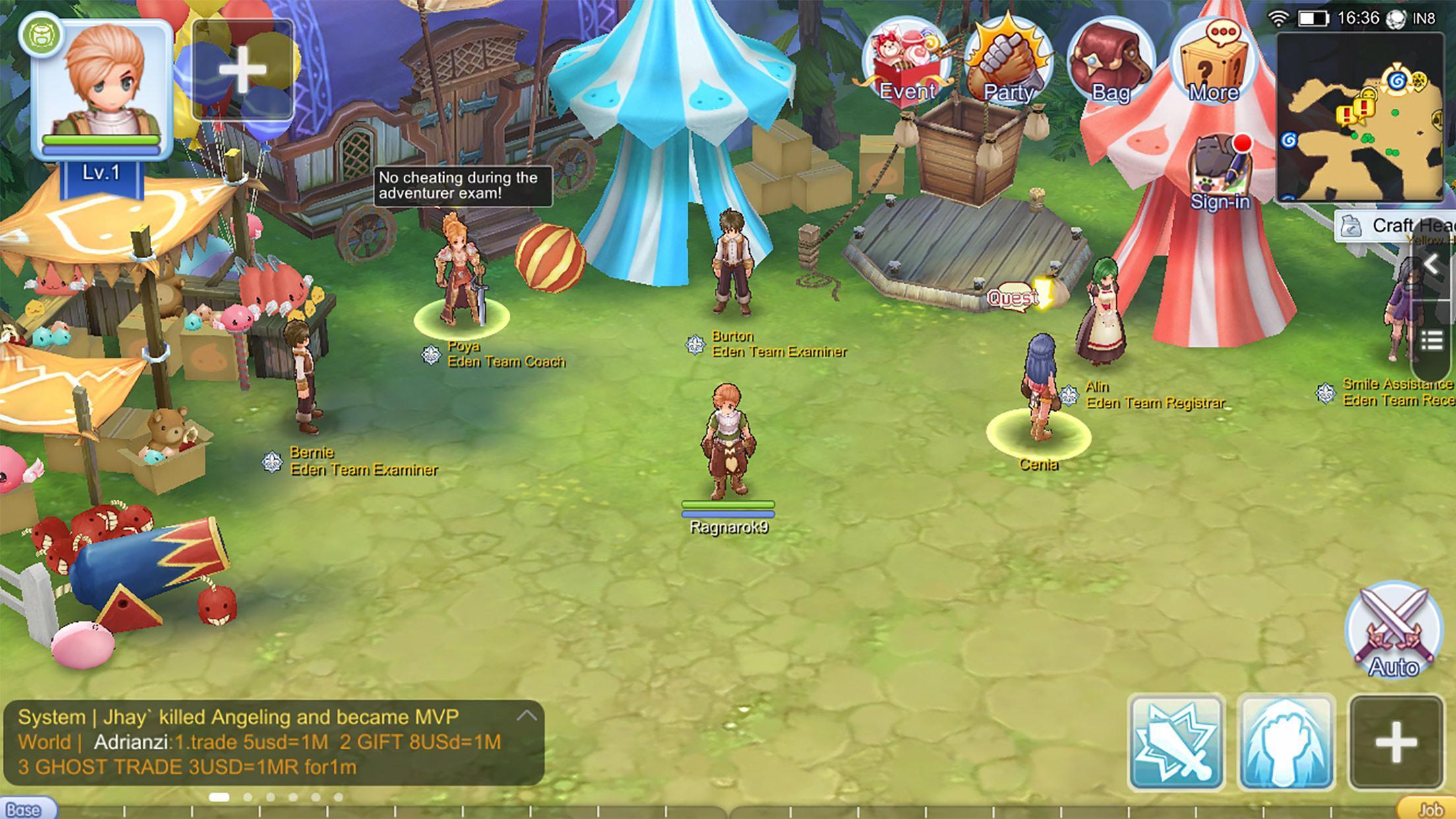 Ragnarok M Eternal Love(ROM) 1.0.7 Screenshot 7