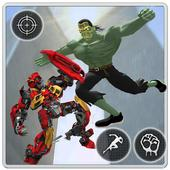 Incredible Monster VS Robot City Rescue Mission app icon