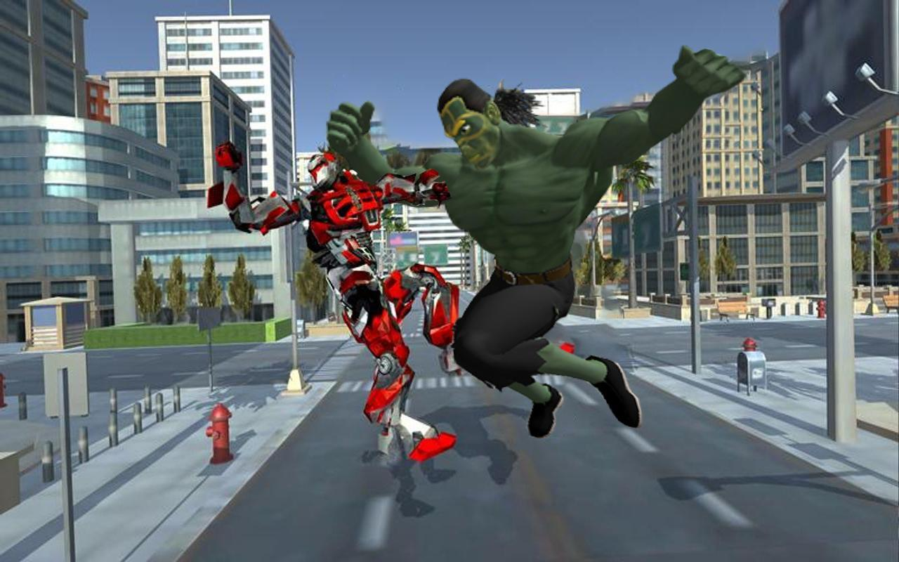 Incredible Monster VS Robot City Rescue Mission 1.8 Screenshot 3