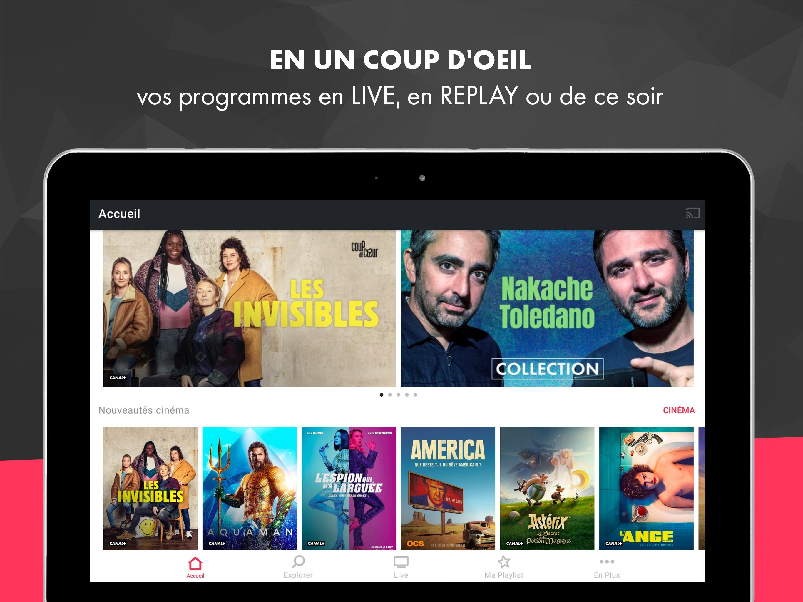 myCANAL, vos programmes en live ou en replay 4.4.2 Screenshot 14