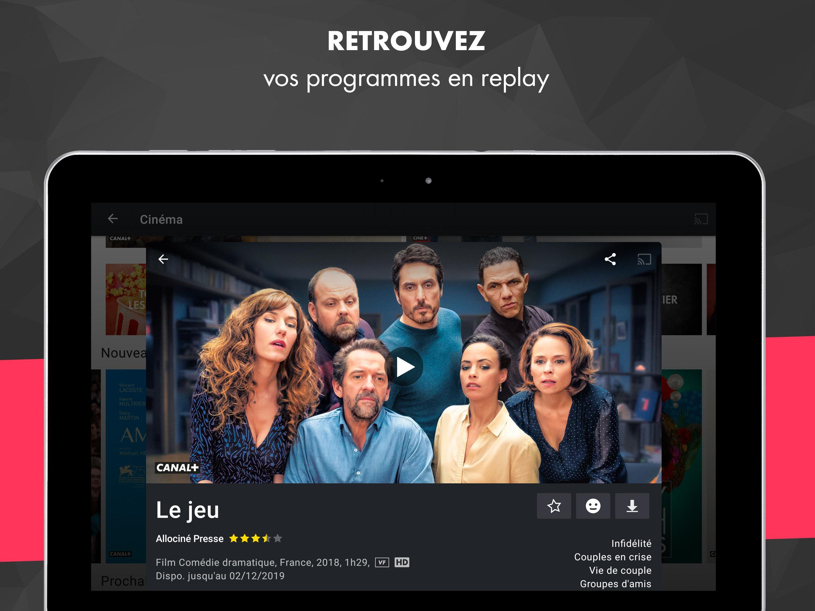 myCANAL, vos programmes en live ou en replay 4.4.2 Screenshot 18