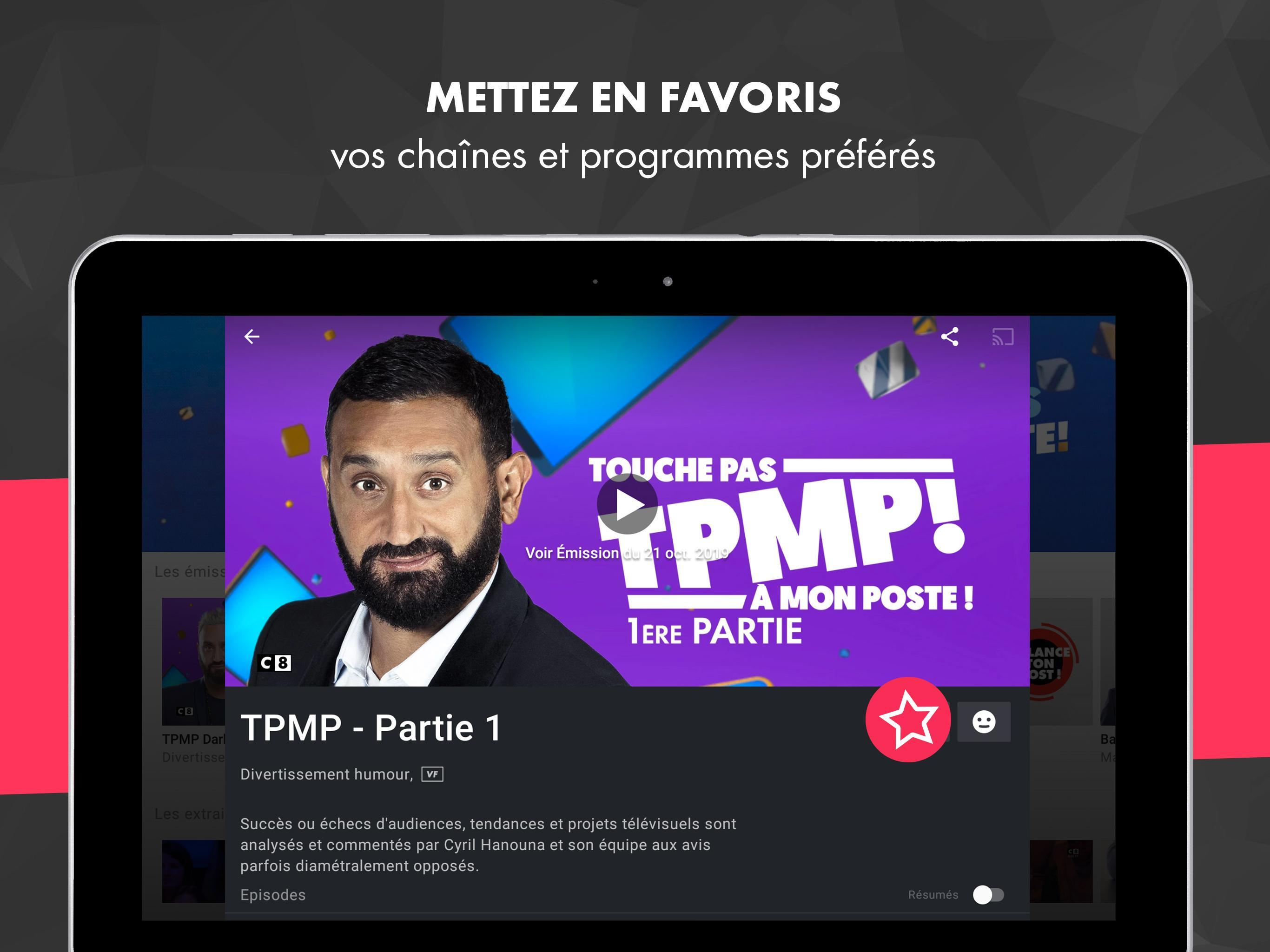 myCANAL, vos programmes en live ou en replay 4.4.2 Screenshot 20