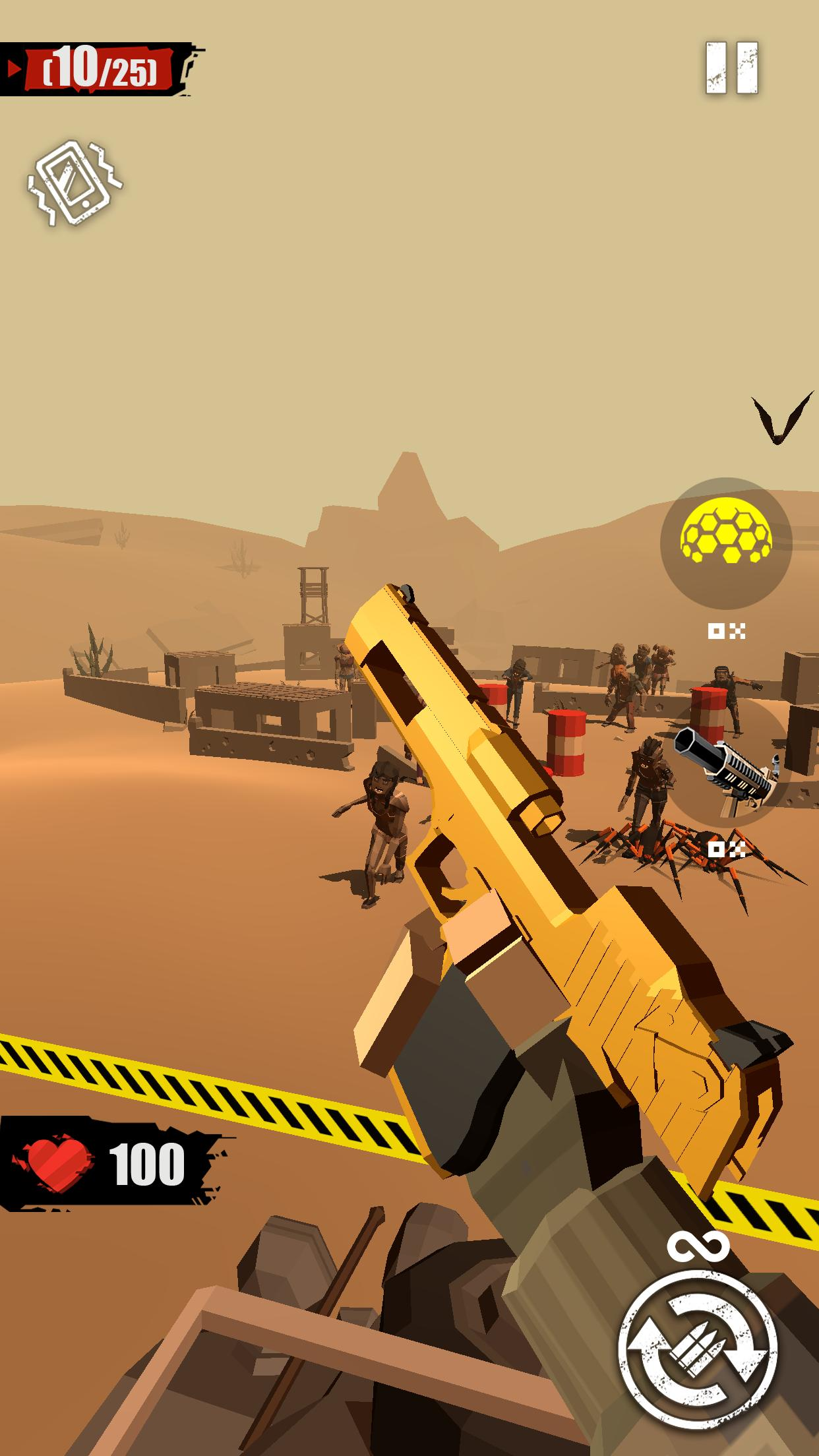 Merge Gun: Shoot Zombie 2.7.4 Screenshot 1