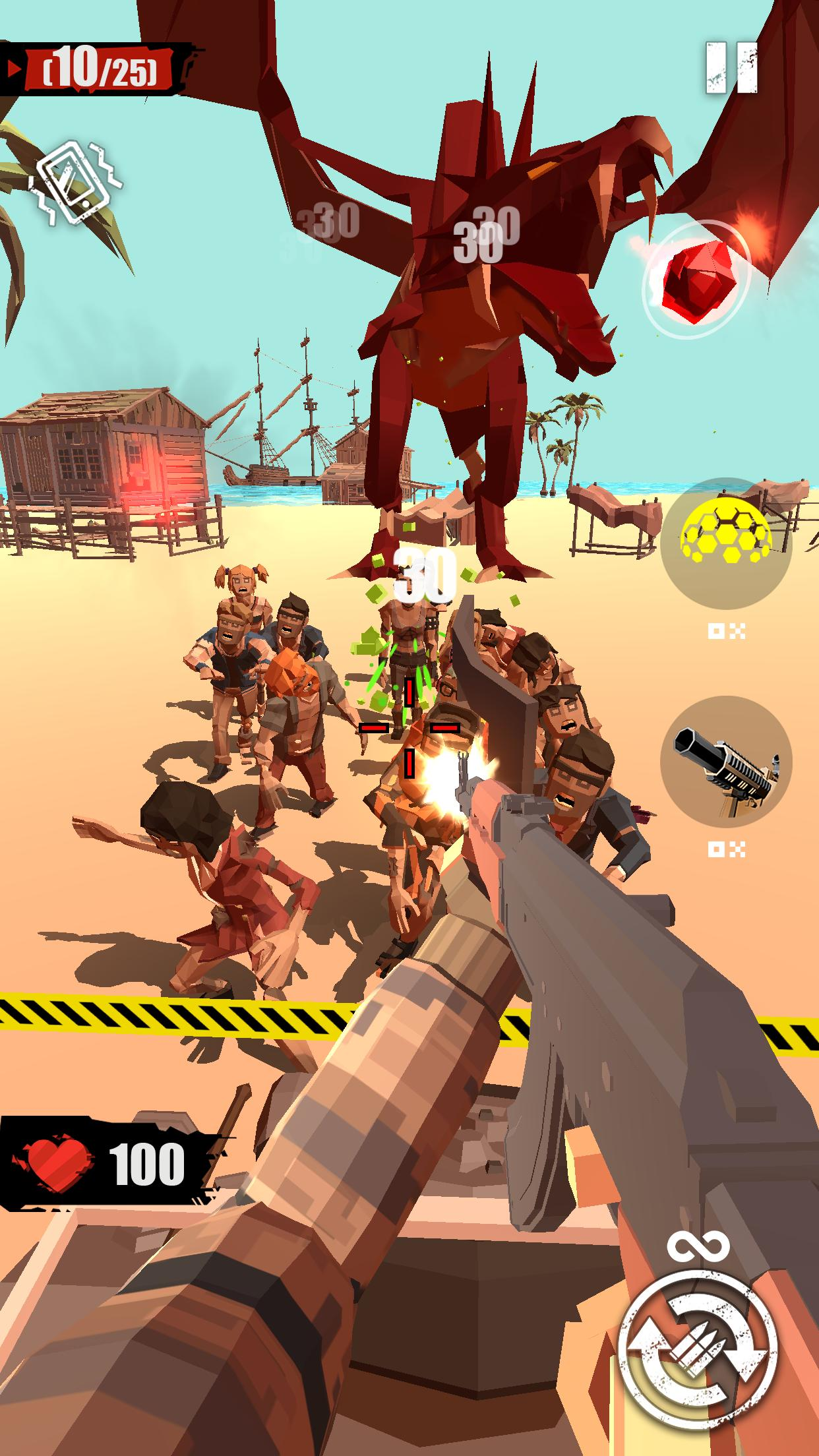 Merge Gun: Shoot Zombie 2.7.4 Screenshot 4