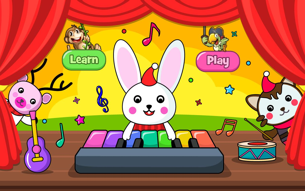 Baby Piano Games & Music for Kids & Toddlers Free 4.0 Screenshot 1