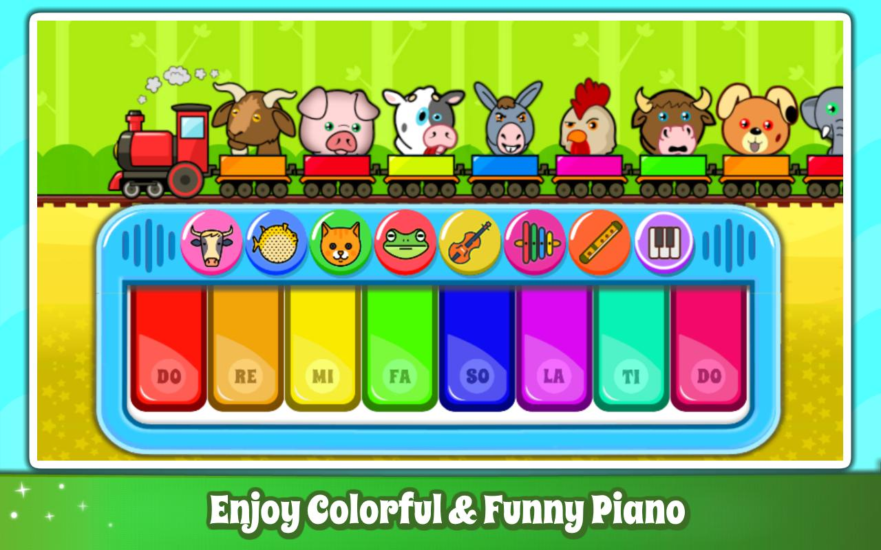 Baby Piano Games & Music for Kids & Toddlers Free 4.0 Screenshot 2