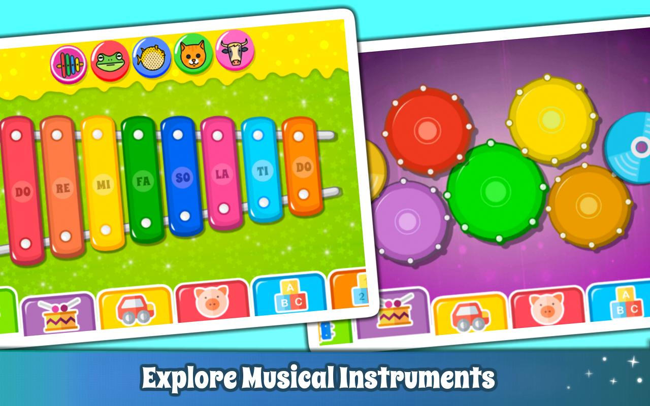 Baby Piano Games & Music for Kids & Toddlers Free 4.0 Screenshot 3