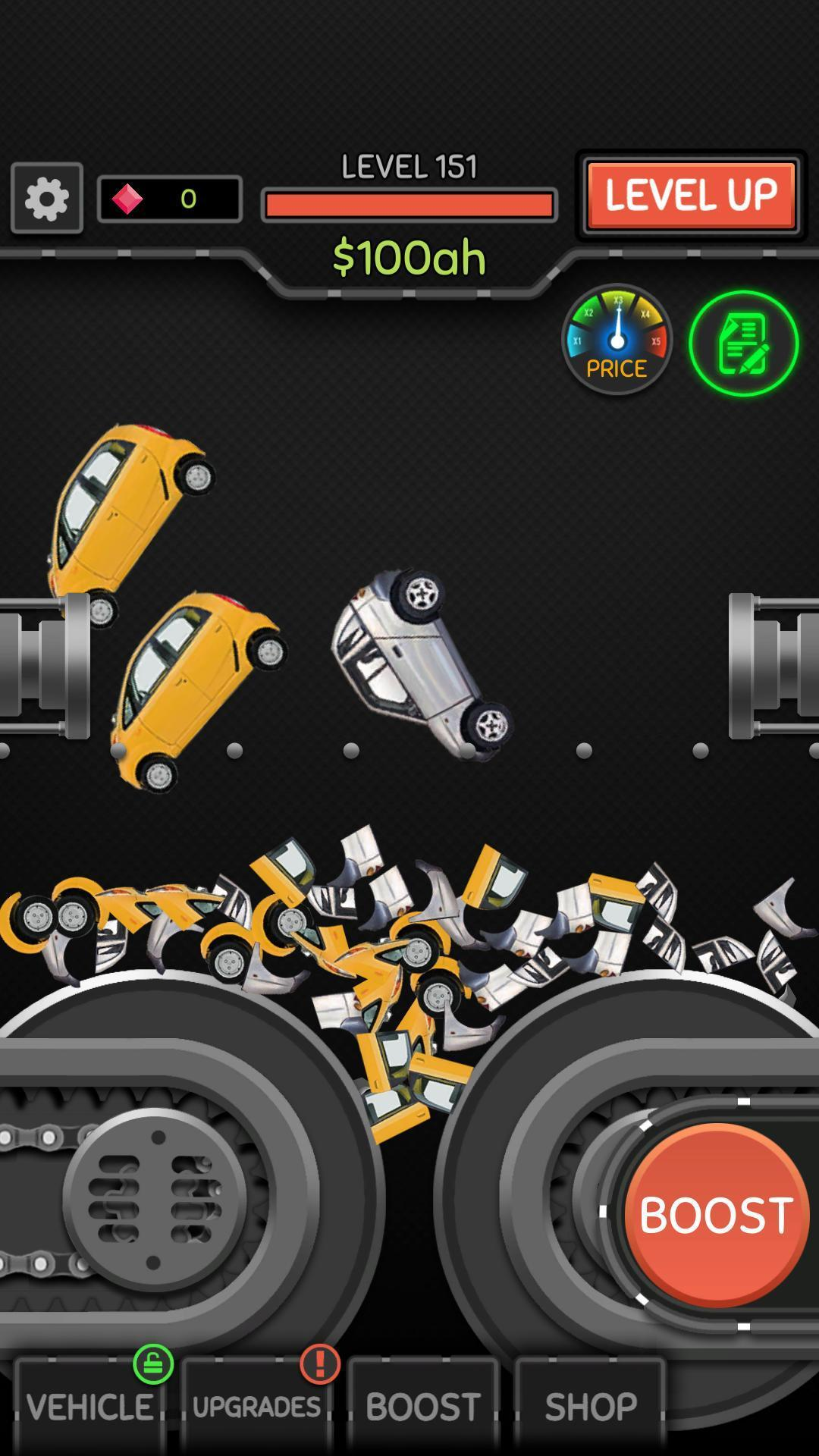 Idle Car Crusher 1.0.27 Screenshot 1