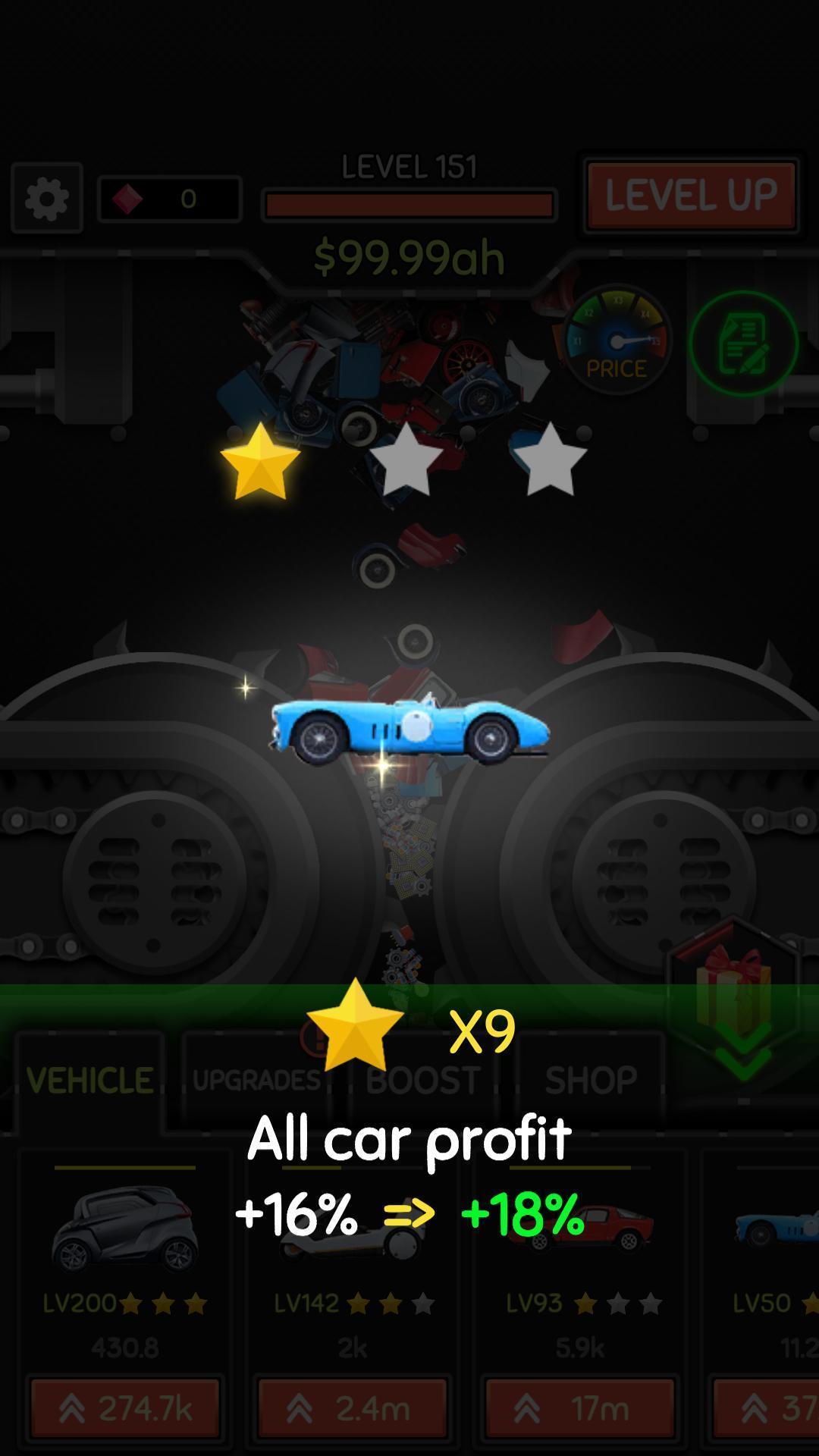 Idle Car Crusher 1.0.27 Screenshot 5
