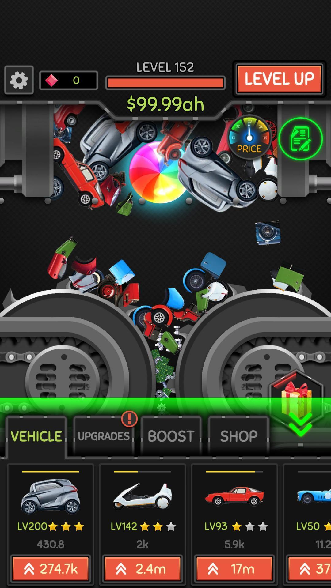 Idle Car Crusher 1.0.27 Screenshot 6