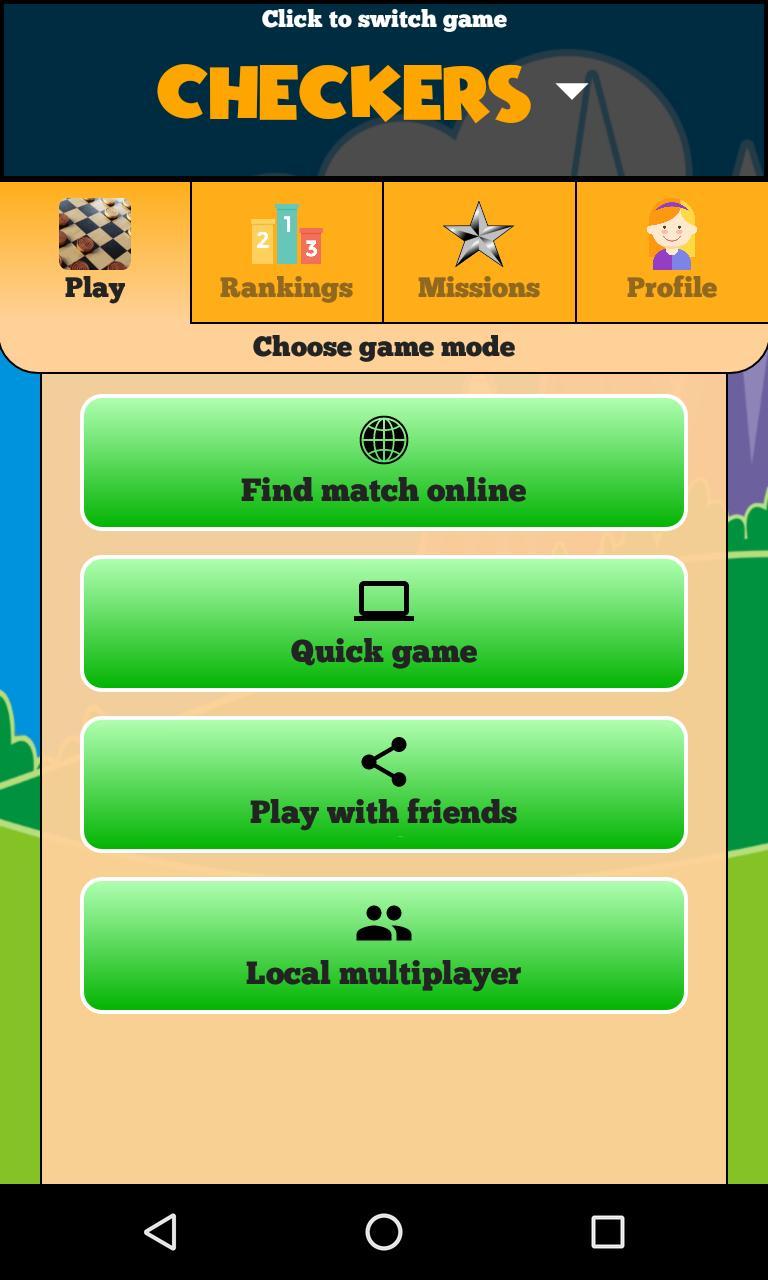 Checkers Online - Duel friends online 217 Screenshot 3