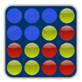 4 in a Row Online - Duel friends online! app icon
