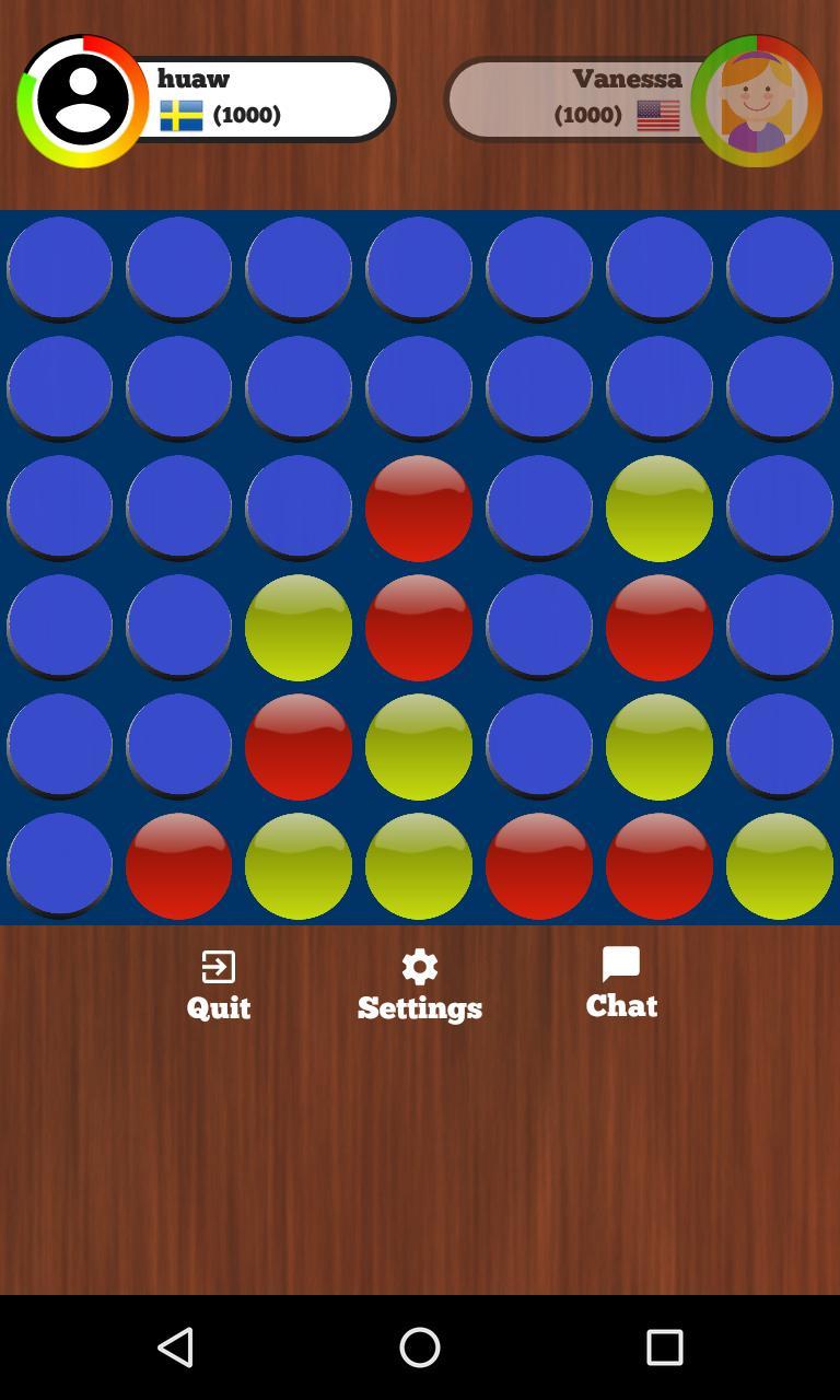 4 in a Row Online - Duel friends online! 129 Screenshot 10