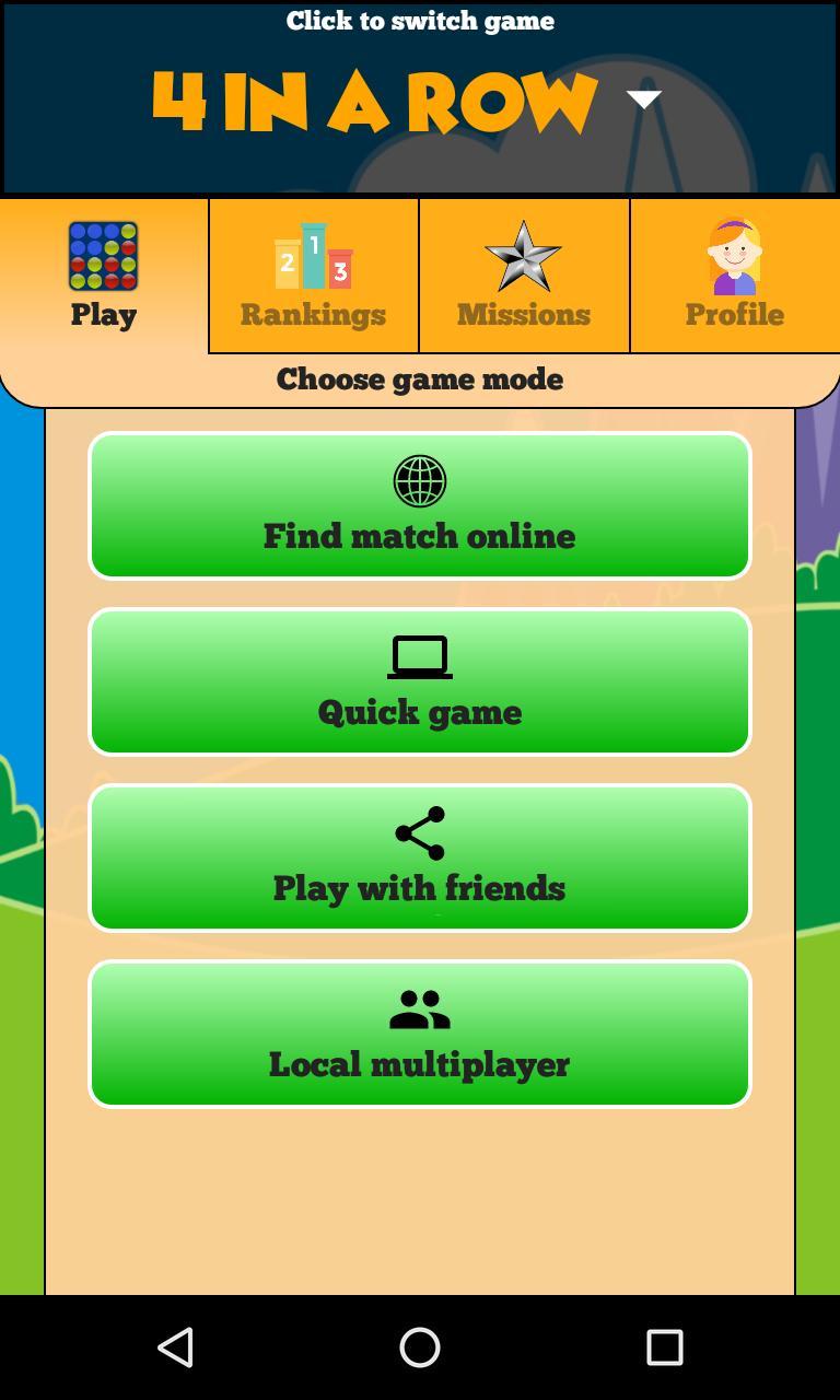 4 in a Row Online - Duel friends online! 129 Screenshot 8