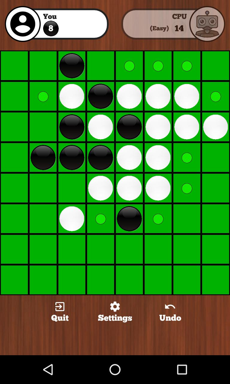 Reversi Online - Duel friends online 129 Screenshot 4