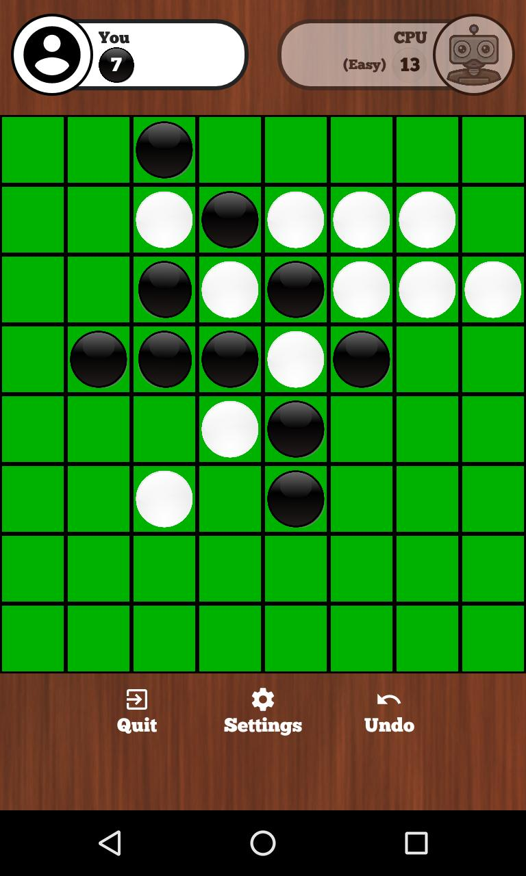 Reversi Online - Duel friends online 129 Screenshot 7