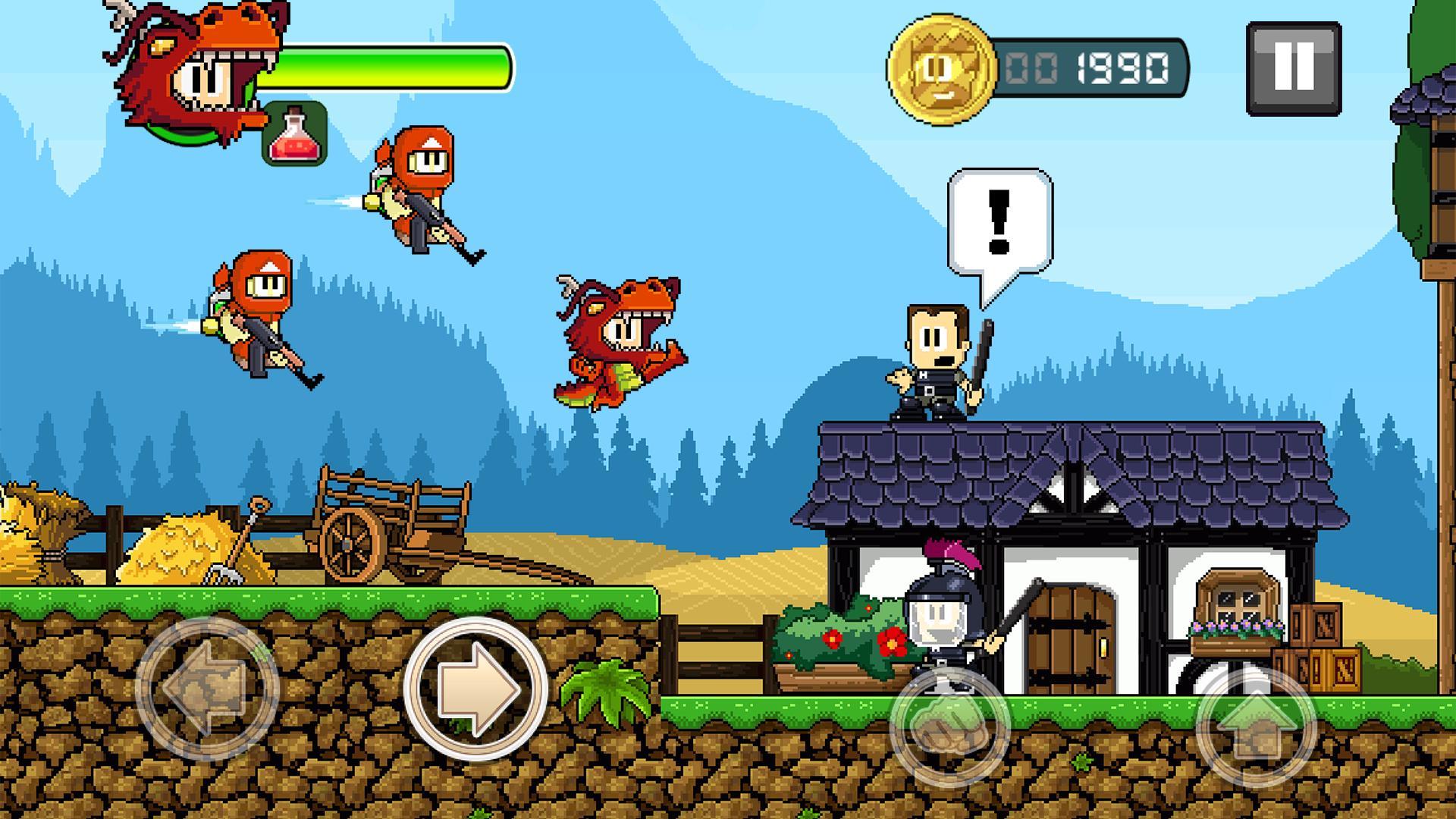 Dan the Man - Epic Action Games 1.6.14 Screenshot 5