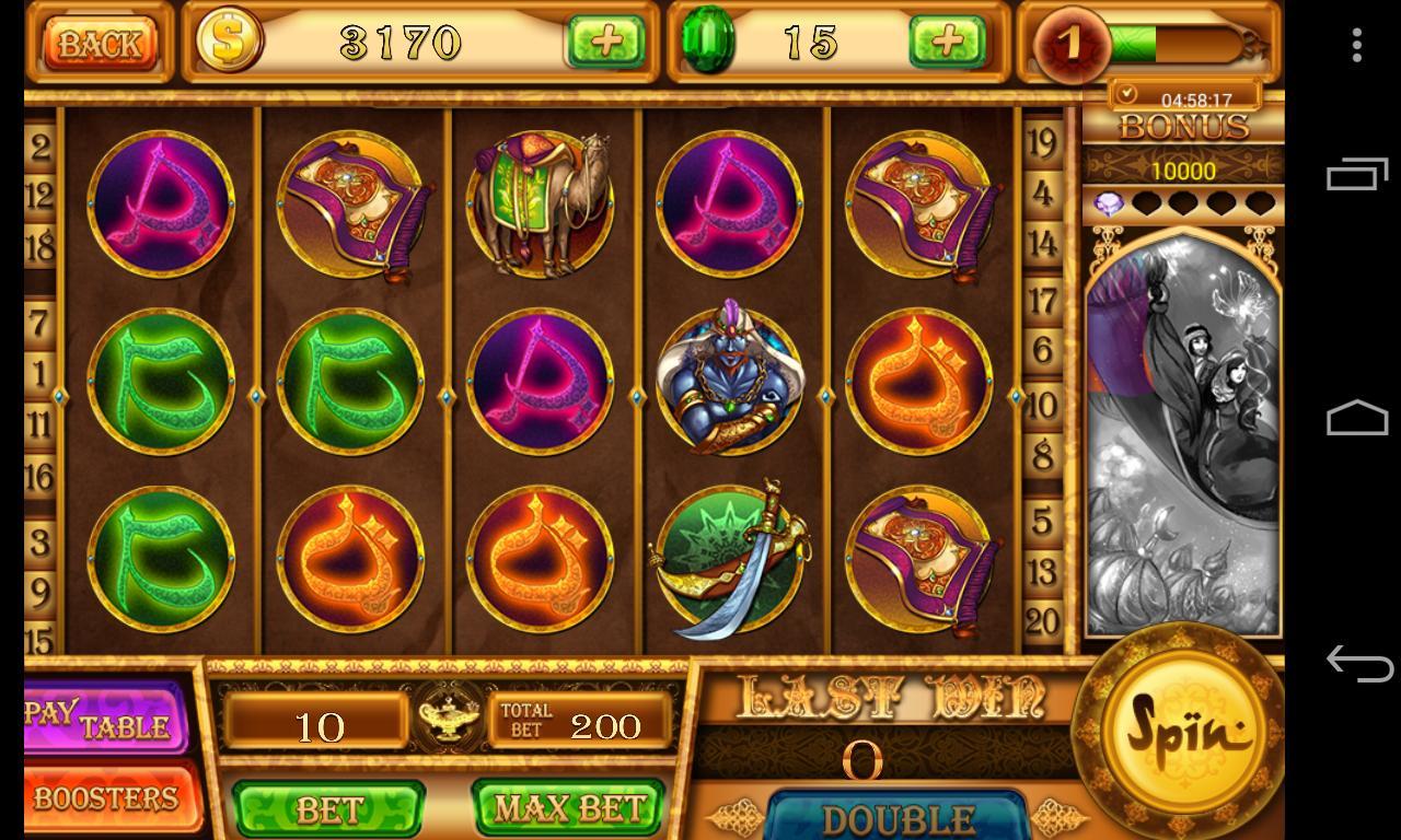Slots - Aladdin's Magic -Vegas Slot Machine Casino 1.6.2 Screenshot 2