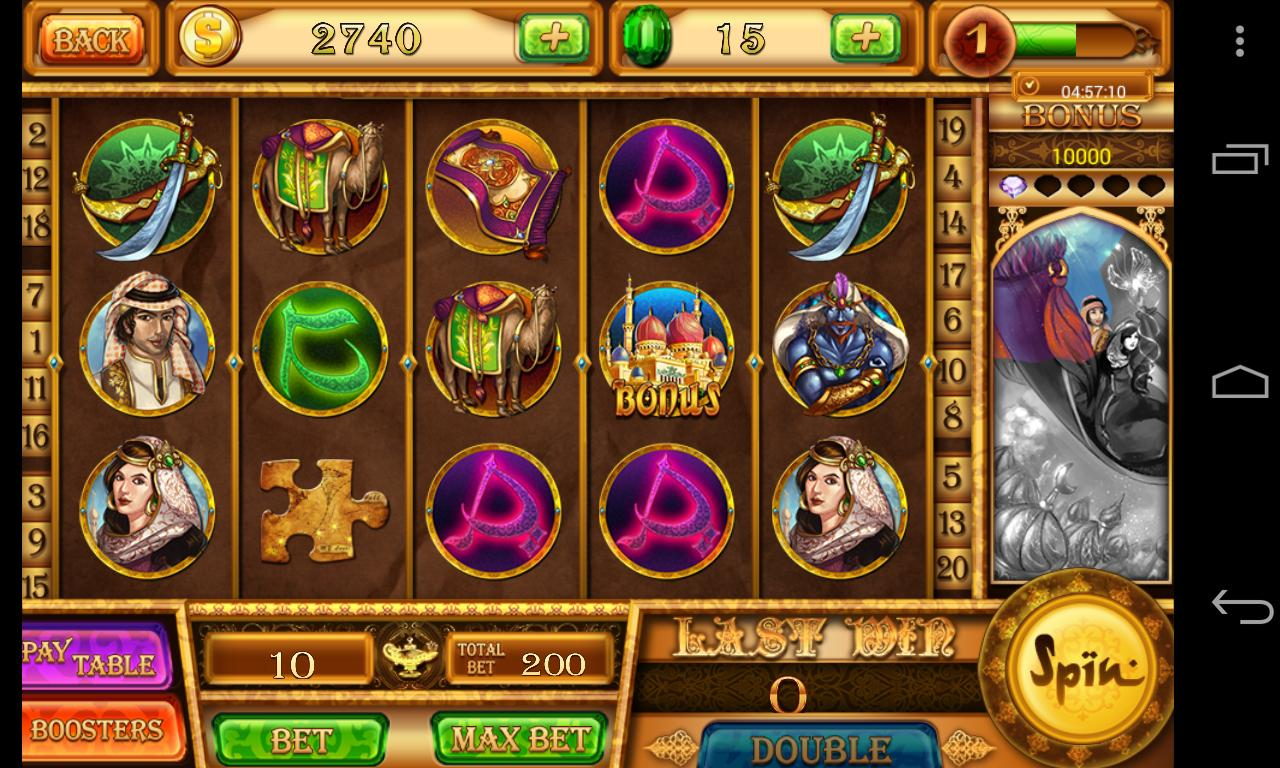 Slots - Aladdin's Magic -Vegas Slot Machine Casino 1.6.2 Screenshot 9