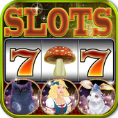 Alice in Magic World Slots-Vegas Slot Machine Game app icon