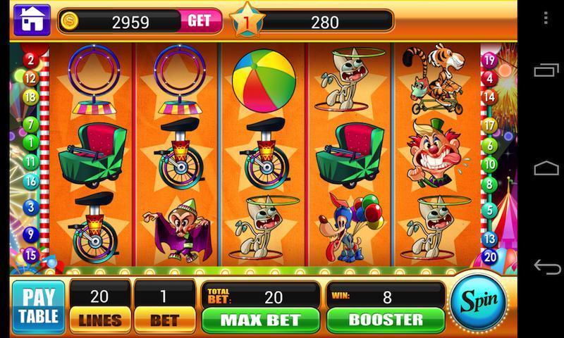 Circus Slots -Slot Machines Vegas Slot Casino Game 1.3.1 Screenshot 1