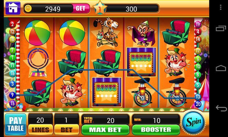 Circus Slots -Slot Machines Vegas Slot Casino Game 1.3.1 Screenshot 4