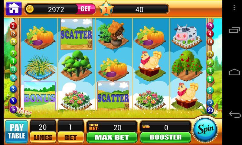 Happy Farm Slots - Free Vegas Jackpot Casino Slots 1.3.1 Screenshot 1