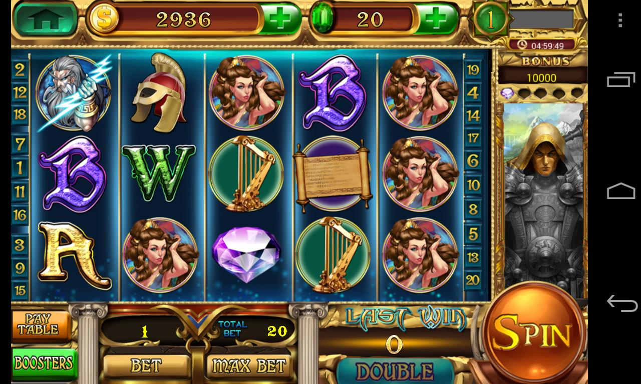 Slots - Titan's Wrath - Vegas Slot Machine Games 1.6.2 Screenshot 1