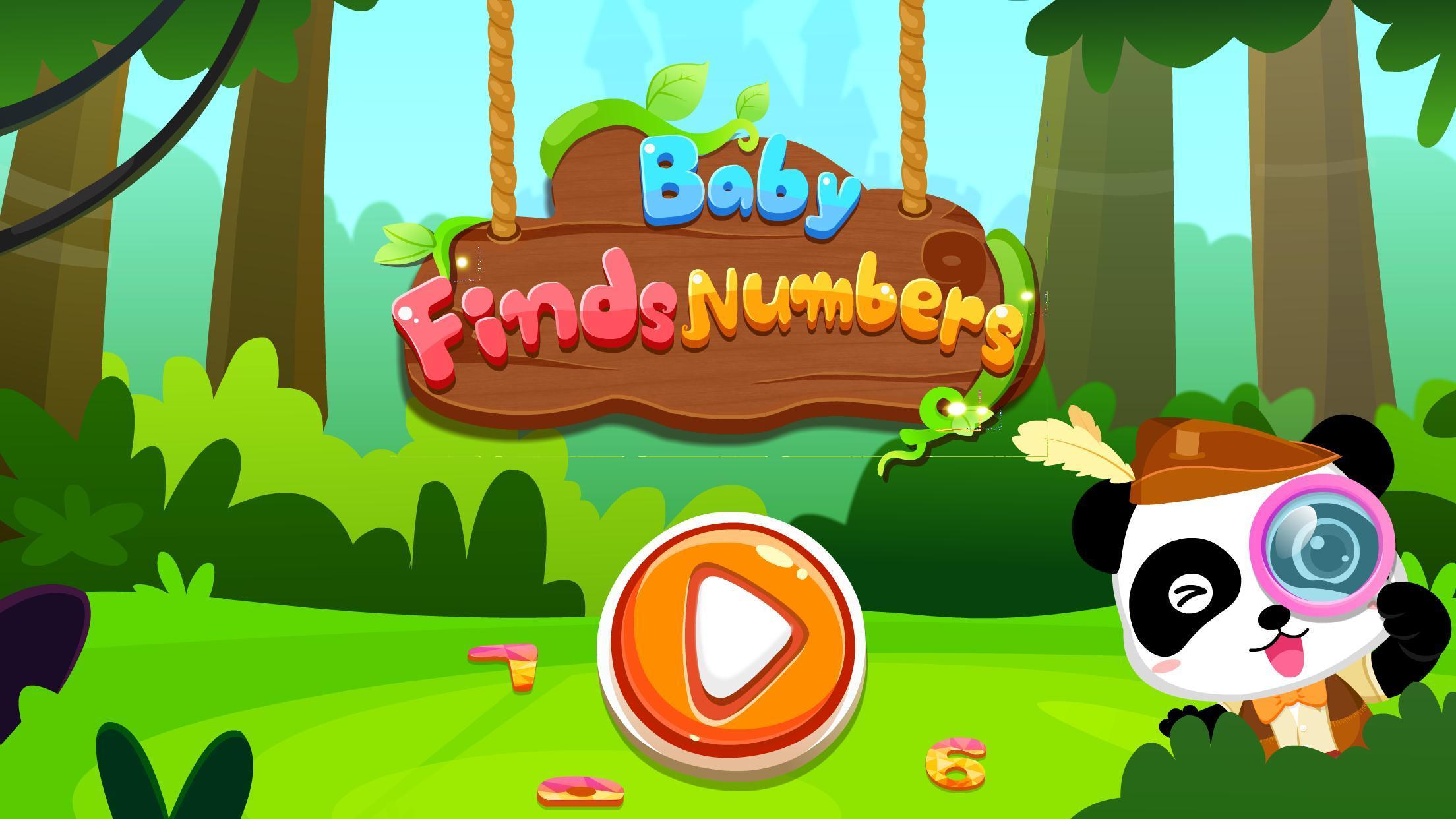 Baby Panda Finds Numbers 8.43.00.10 Screenshot 5