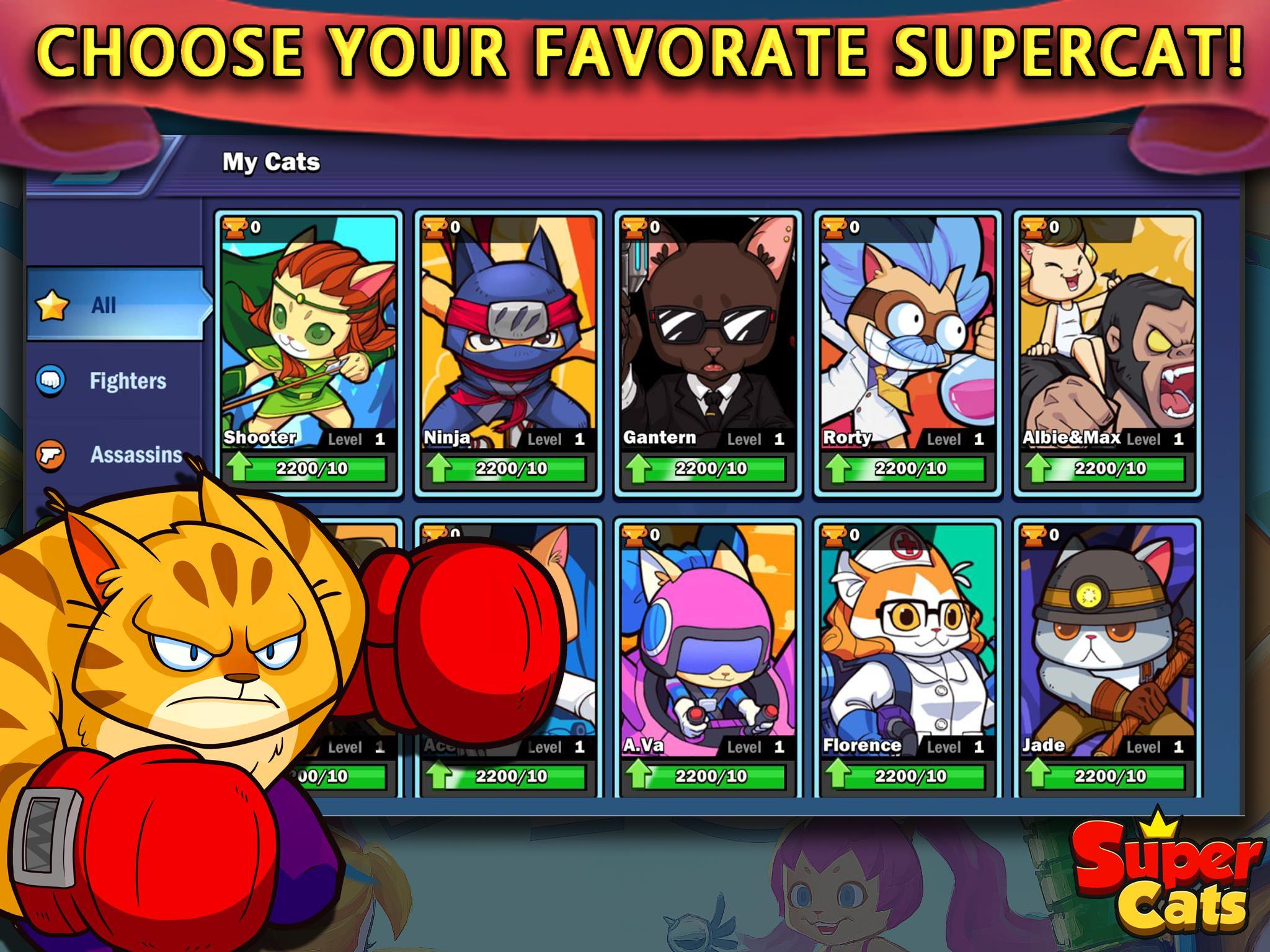 Super Cats 1.0.59 Screenshot 11
