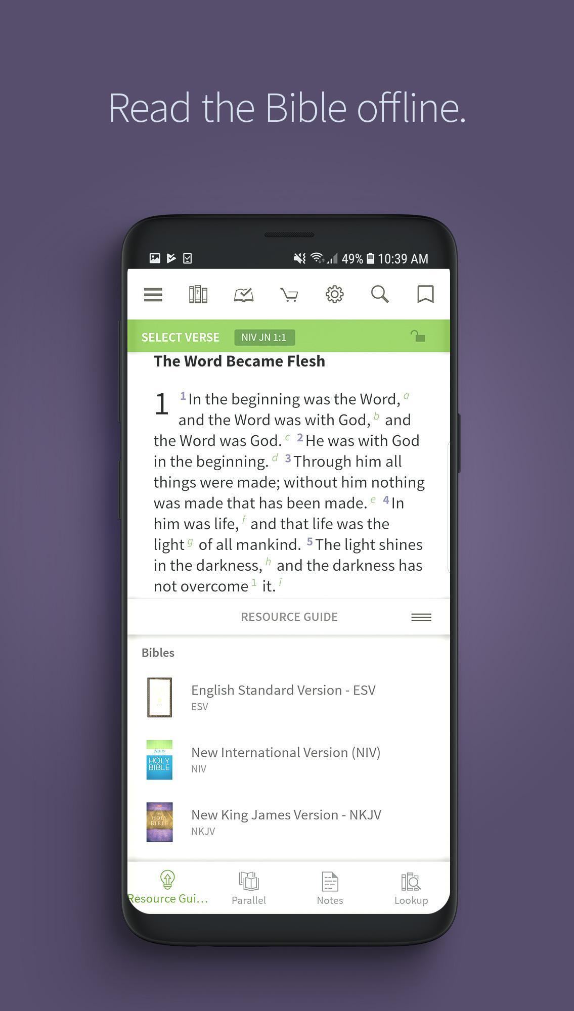 Bible App by Olive Tree 7.5.4.0.5664 Screenshot 1