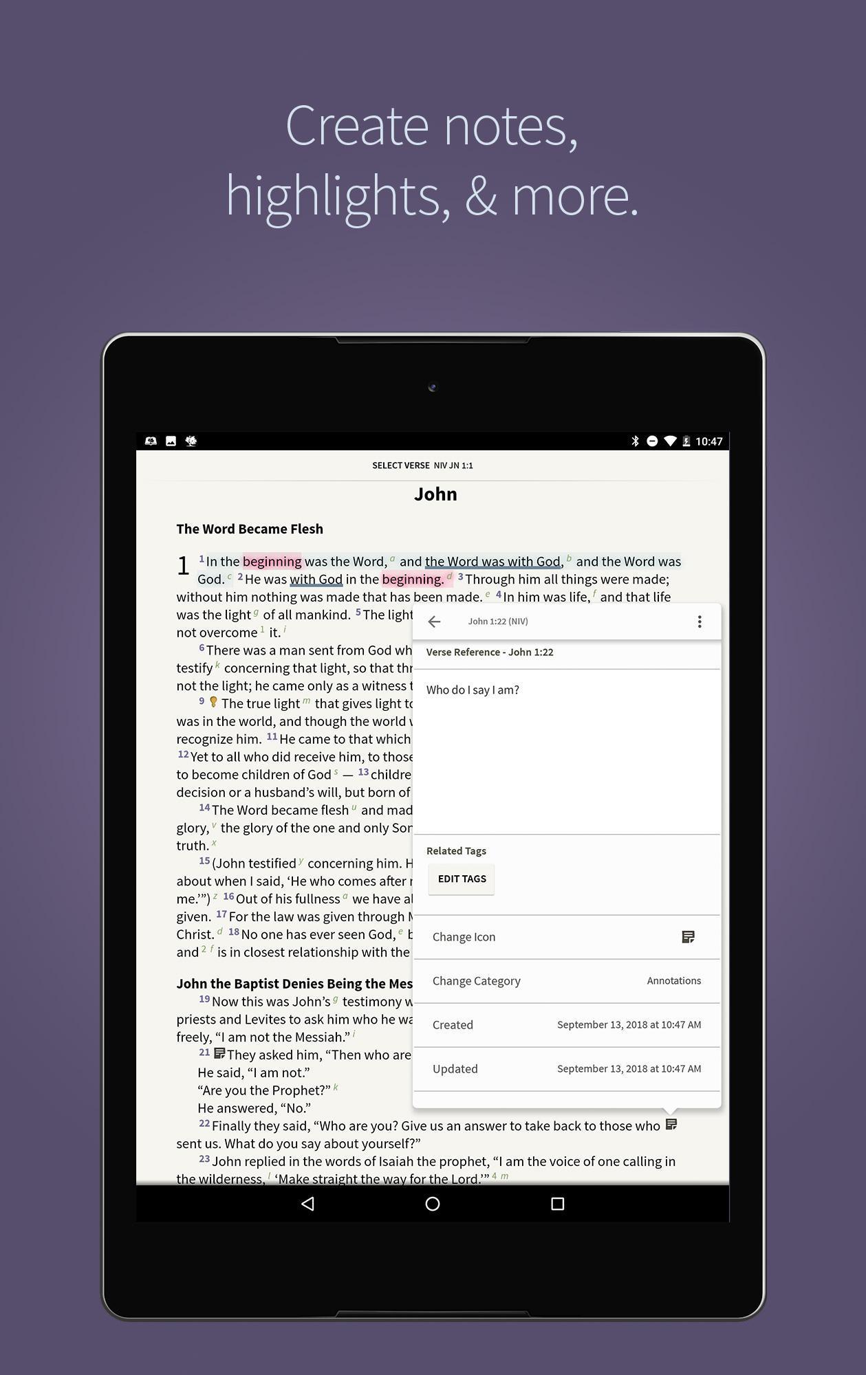 Bible App by Olive Tree 7.5.4.0.5664 Screenshot 13