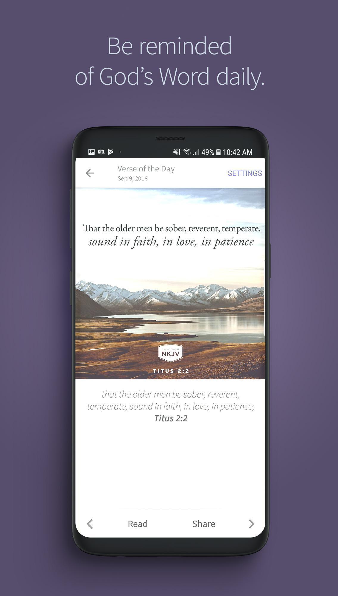Bible App by Olive Tree 7.5.4.0.5664 Screenshot 3