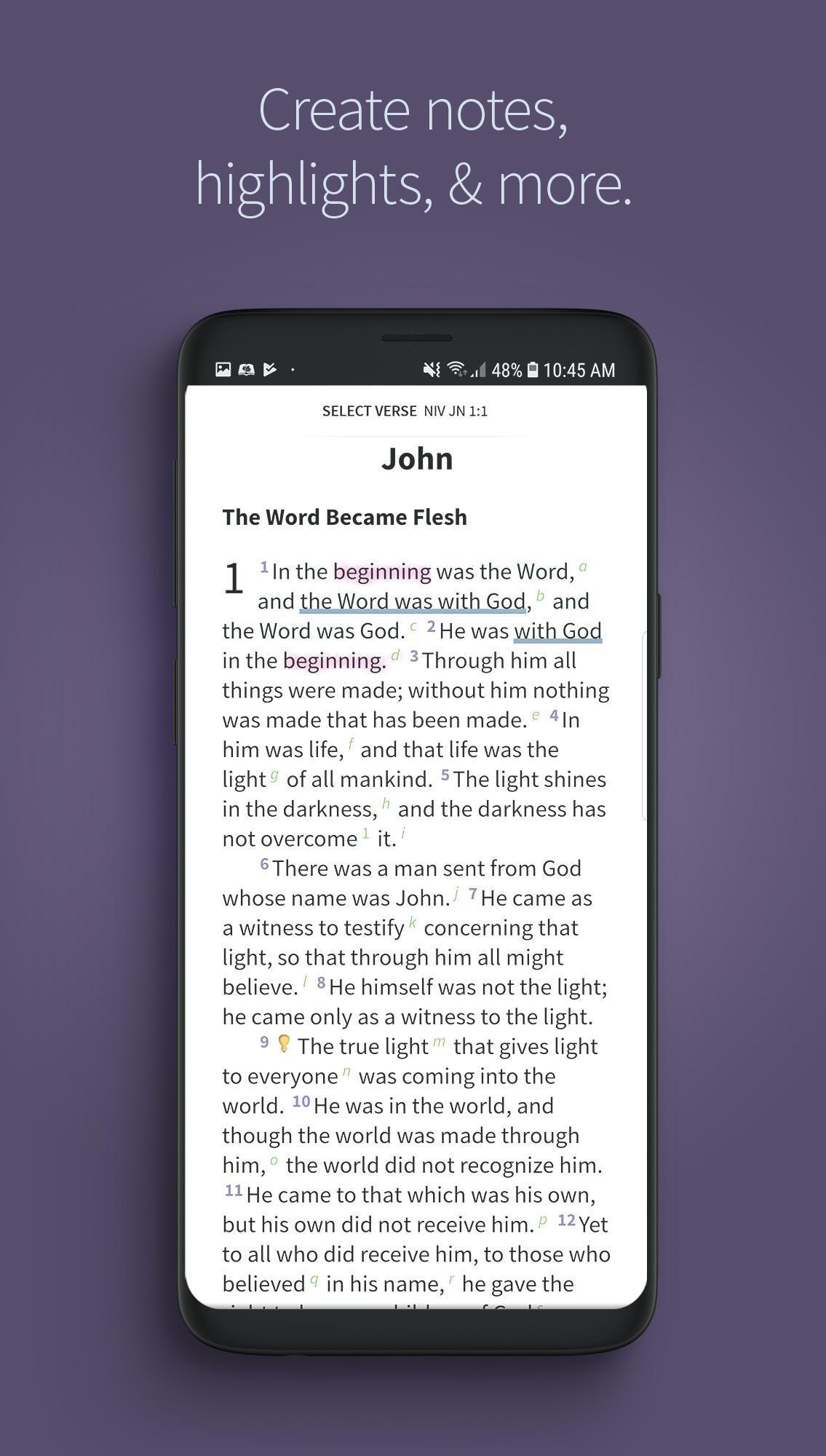 Bible App by Olive Tree 7.5.4.0.5664 Screenshot 5