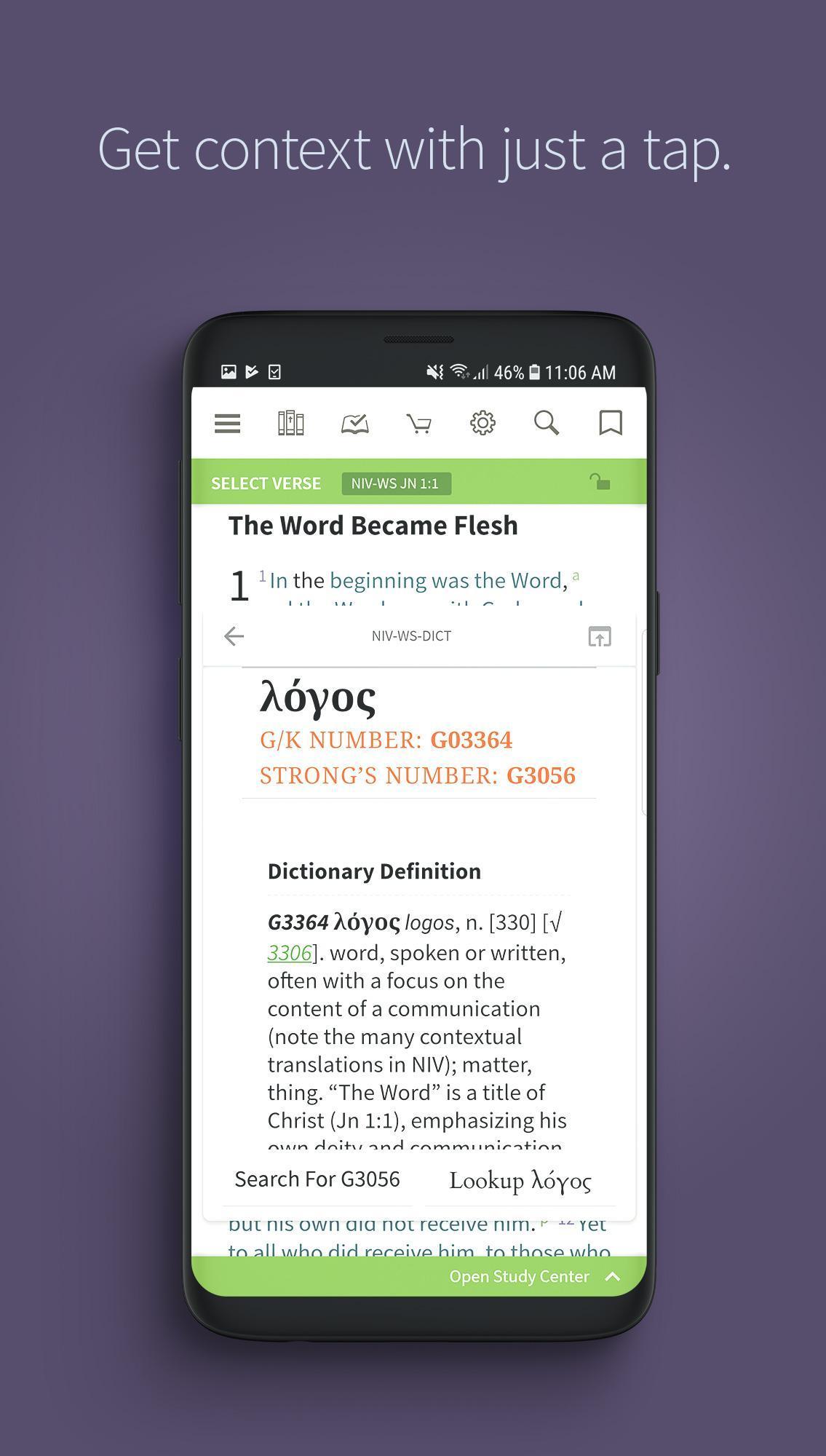 Bible App by Olive Tree 7.5.4.0.5664 Screenshot 8