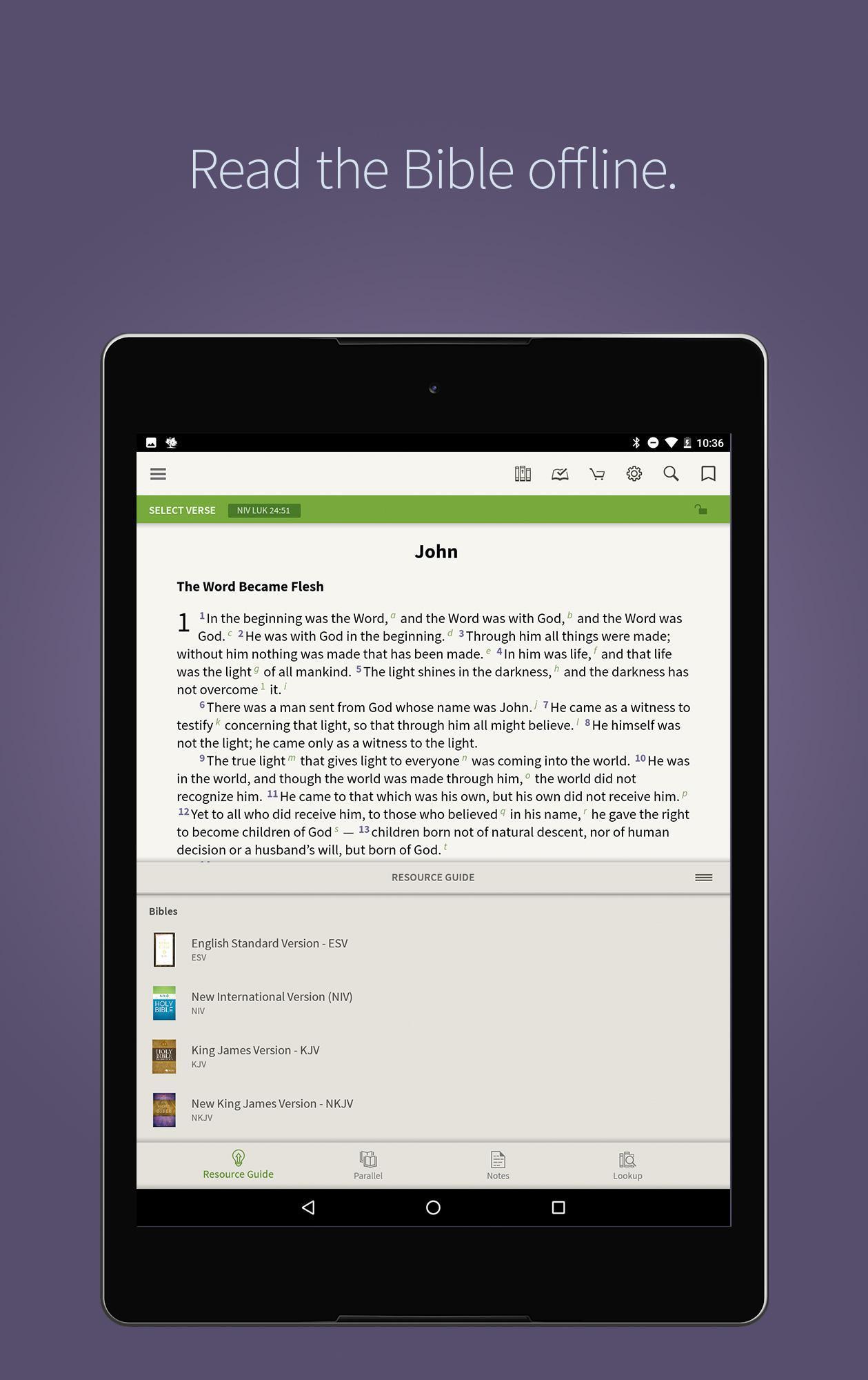 Bible App by Olive Tree 7.5.4.0.5664 Screenshot 9