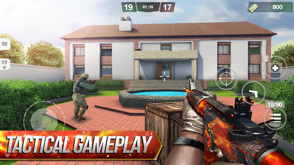 Special Ops FPS PvP War-Online gun shooting games 1.98 Screenshot 1