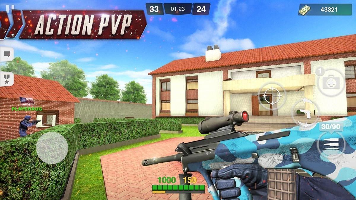 Special Ops FPS PvP War-Online gun shooting games 1.98 Screenshot 2