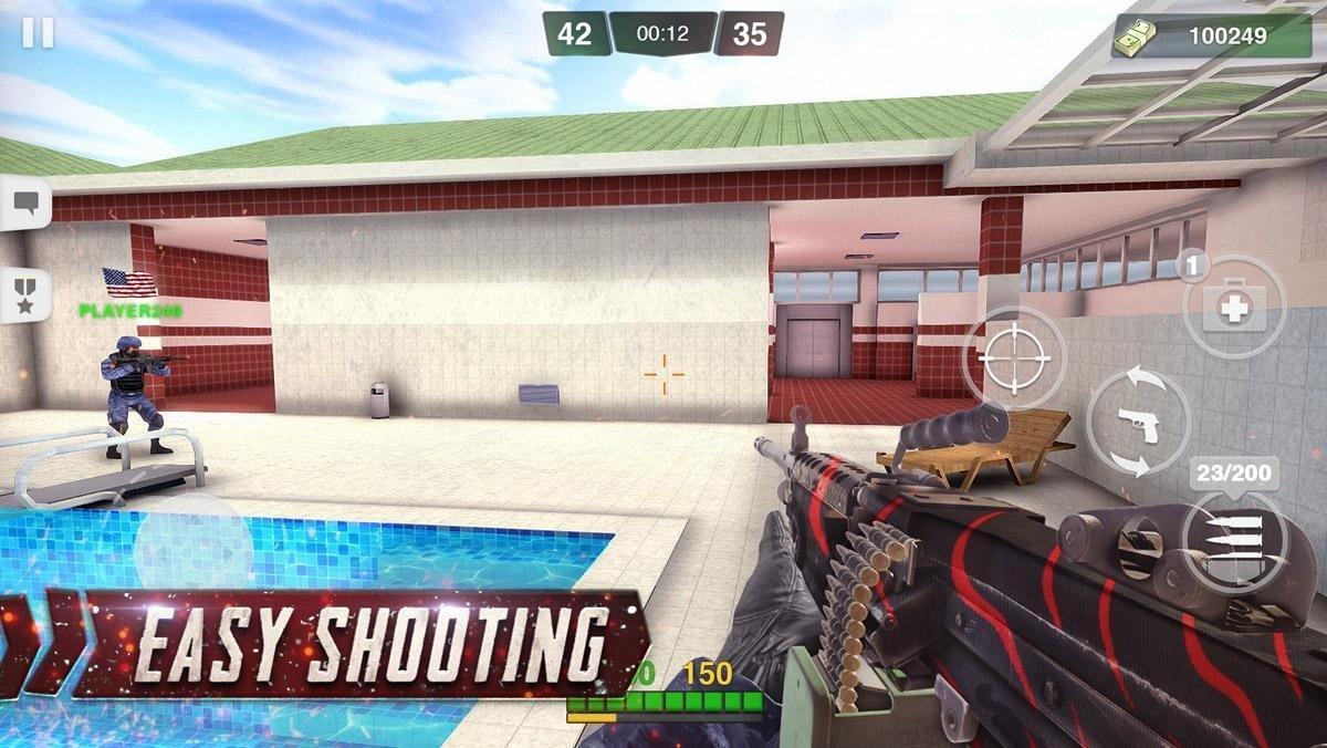 Special Ops FPS PvP War-Online gun shooting games 1.98 Screenshot 3