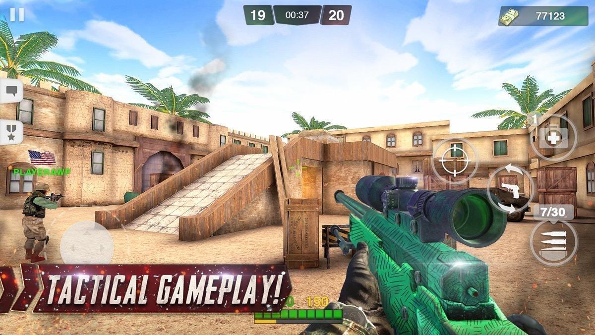 Special Ops FPS PvP War-Online gun shooting games 1.98 Screenshot 4