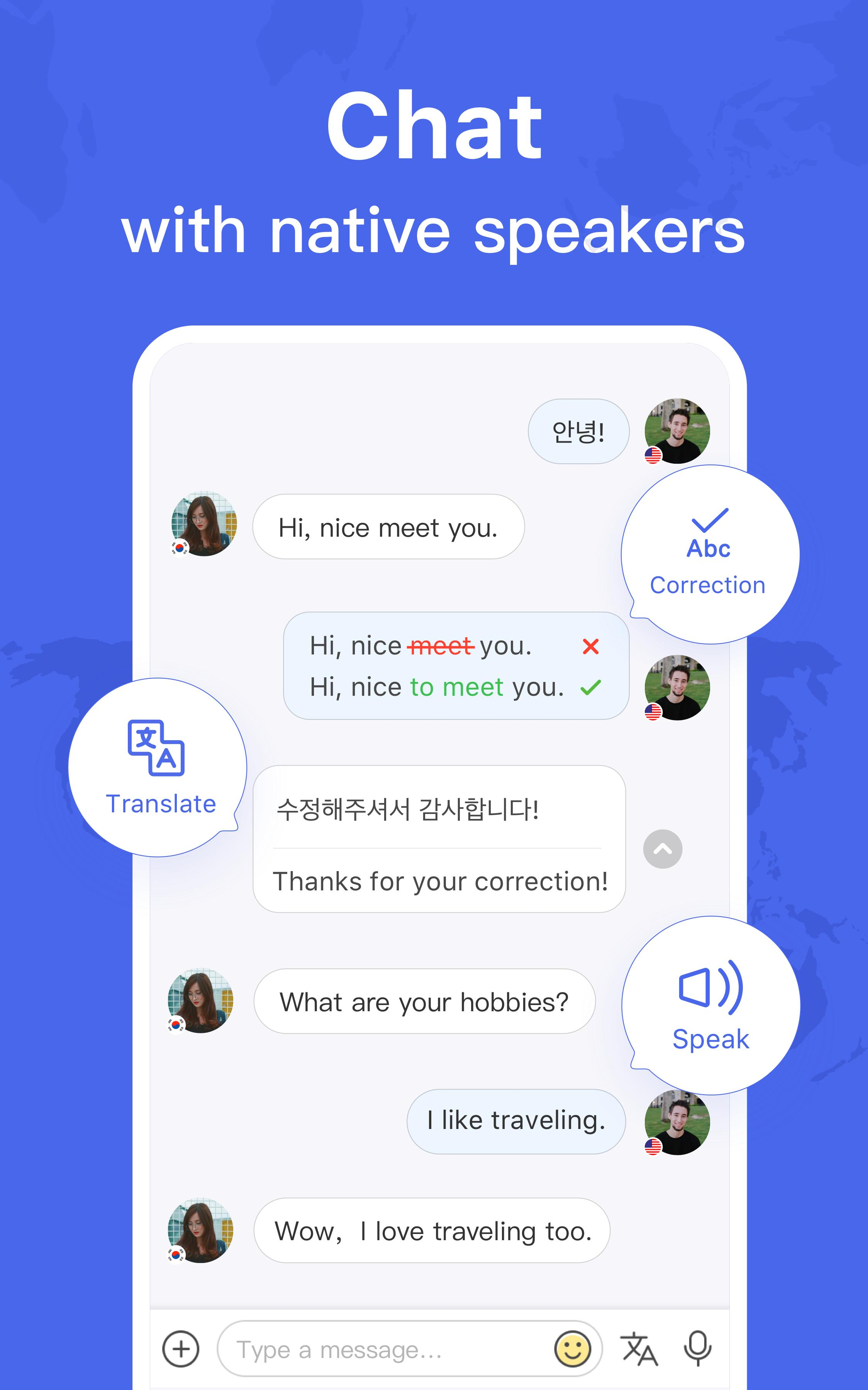 HelloTalk — Chat, Speak & Learn Foreign Languages 4.1.7 Screenshot 11