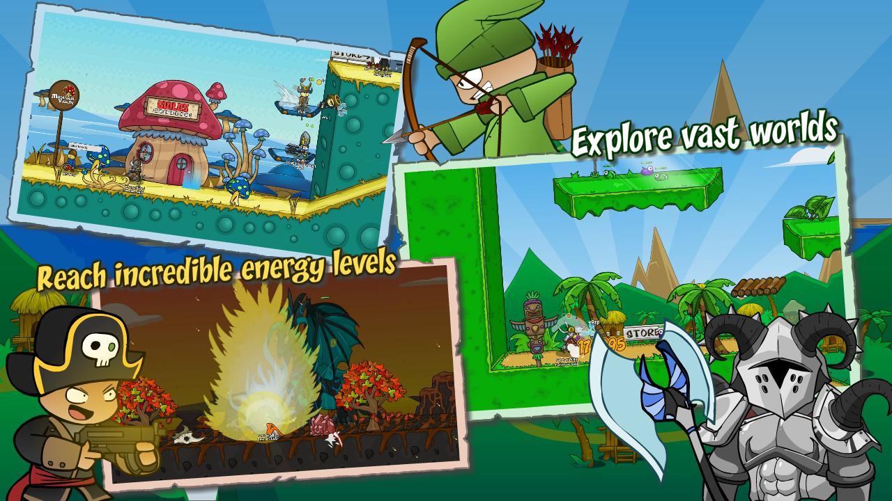 Helmet Heroes MMORPG - Heroic Crusaders RPG Quest 10.6 Screenshot 1