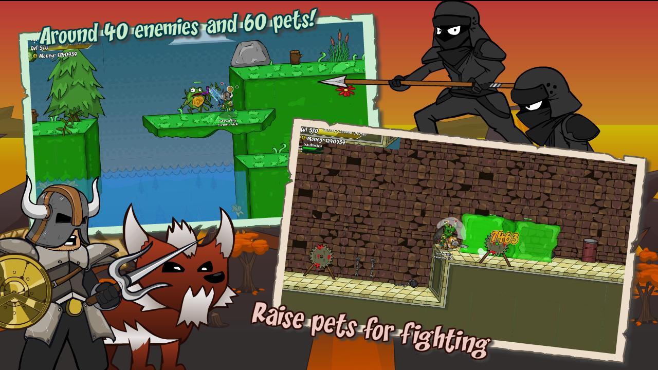 Helmet Heroes MMORPG - Heroic Crusaders RPG Quest 10.6 Screenshot 3