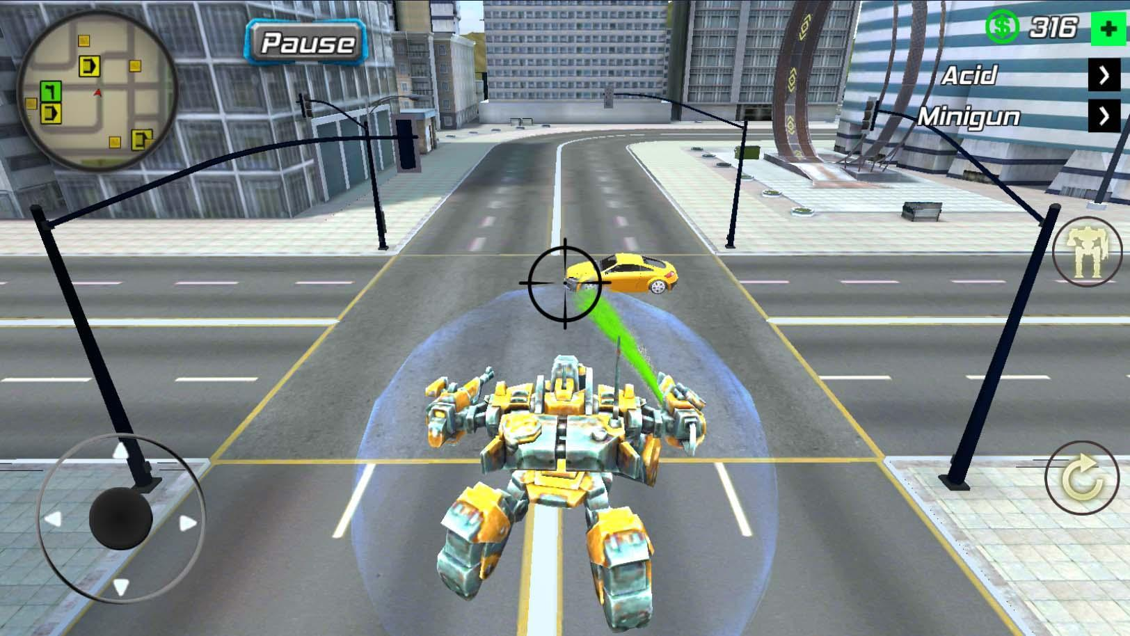 Super Crime Steel War Hero Iron Flying Mech Robot 1.1.7 Screenshot 3